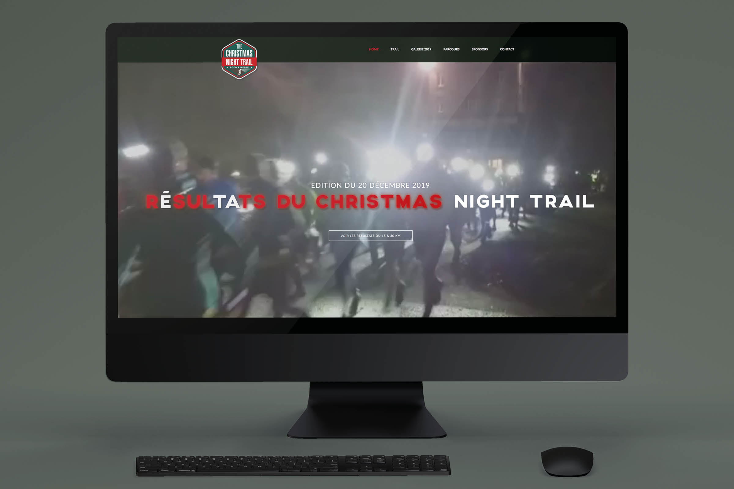Site Web The Christmas Night Trail